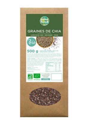 GRAINES DE CHIA BIOLOGIQUES